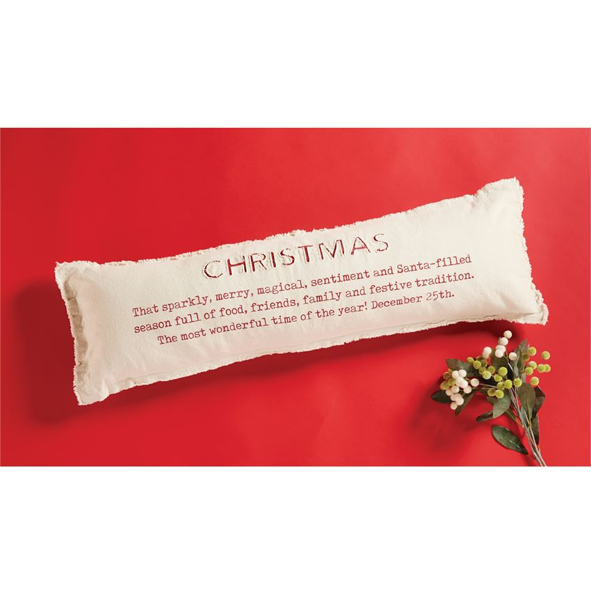 Christmas Definition Pillow (41600241)