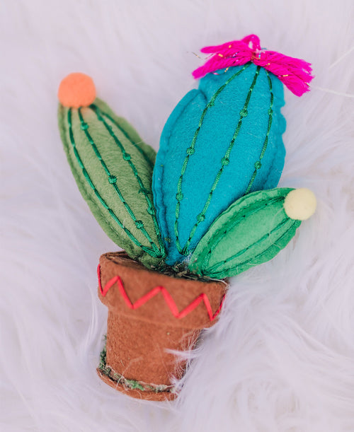 Colorful Cactus Ornament (3820069)