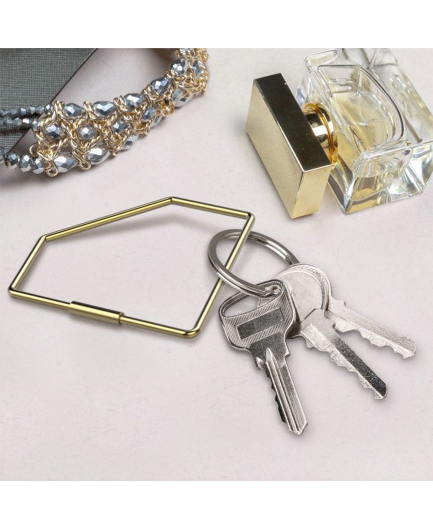 Gem Gold Key Ring (5228971)