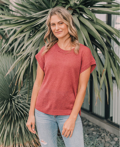 Rosewood Embroidered Boho Top