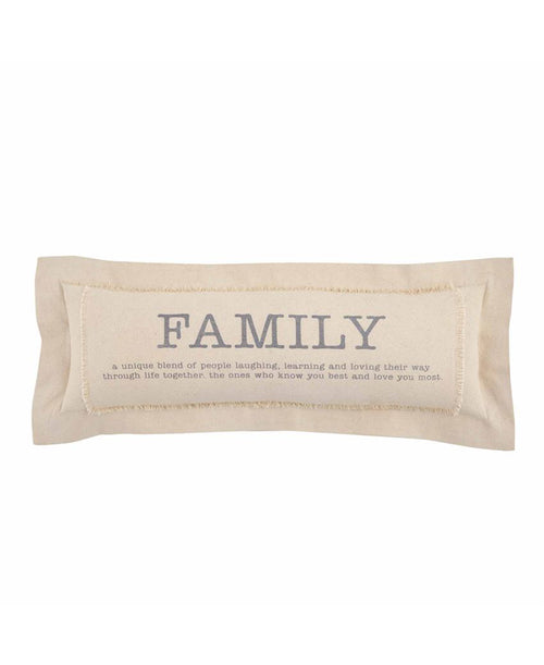 Family Definition Pillow (41600313)
