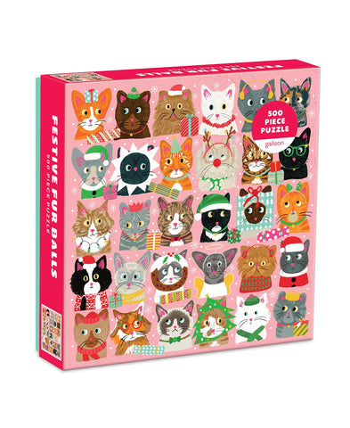 Set of 2 Queen Cat 750 Piece Puzzle