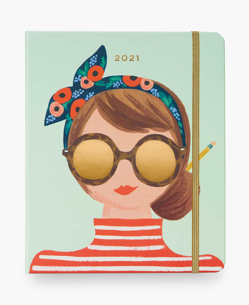 2021 Hair Bow 17-Month Planner by Rifle Paper Co.