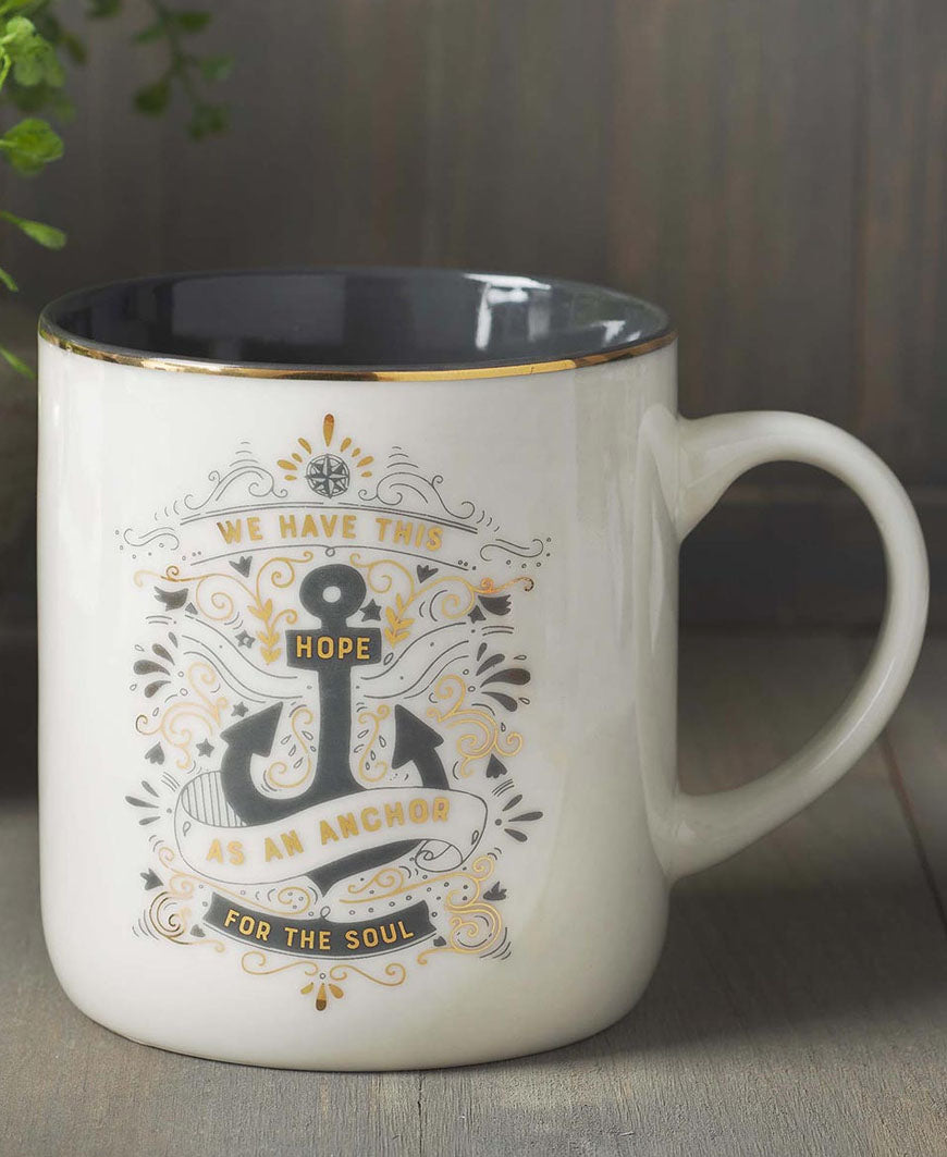 Hope as an Anchor Ceramic Coffee Mug