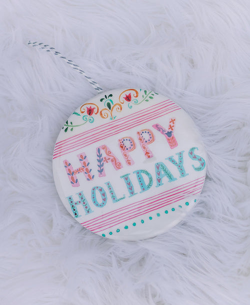 Happy Holidays Ornament (3919079)