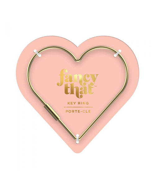 Heart Gold Key Ring (5238587)