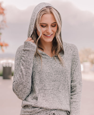 Heather Gray 'Bree' Short Cardigan (13381-550)
