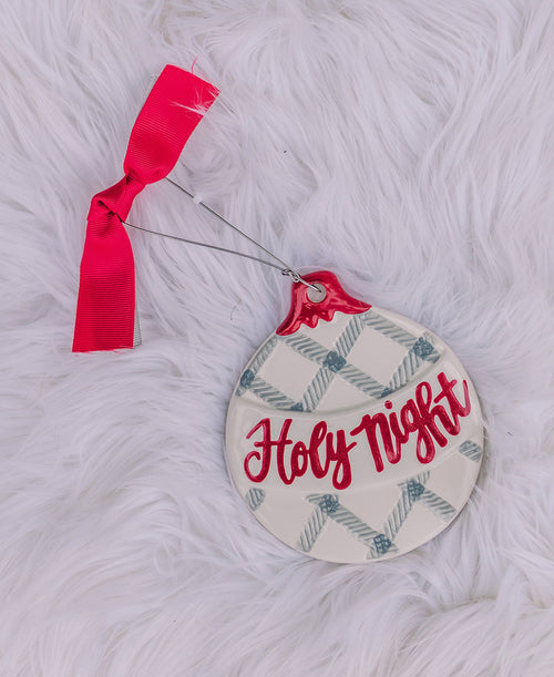 Holy Night Ceramic Ornament (9733992)