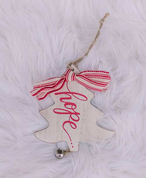 Hope Rustic Christmas Tree Ornament (9736942)