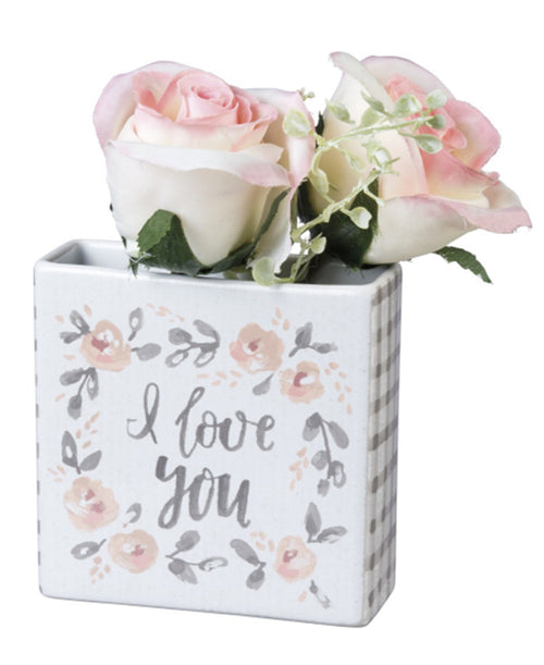 I Love You Bud Vase (100184)