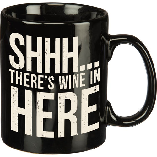 There's Wine in Here Mug (25378)