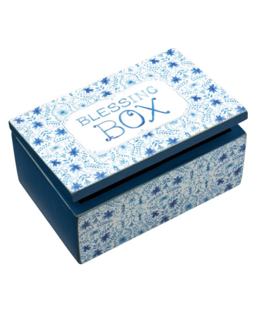 Indigo Blessing Box