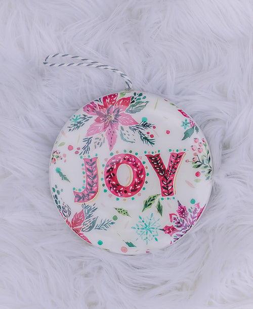 Joy Disk Ornament (3919077)