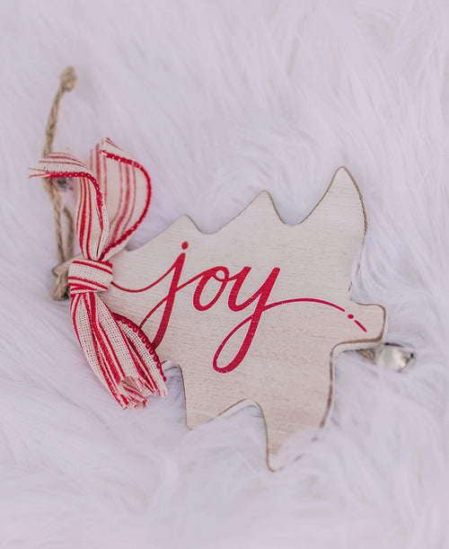 Joy Rustic Christmas Tree Ornament (9736942)