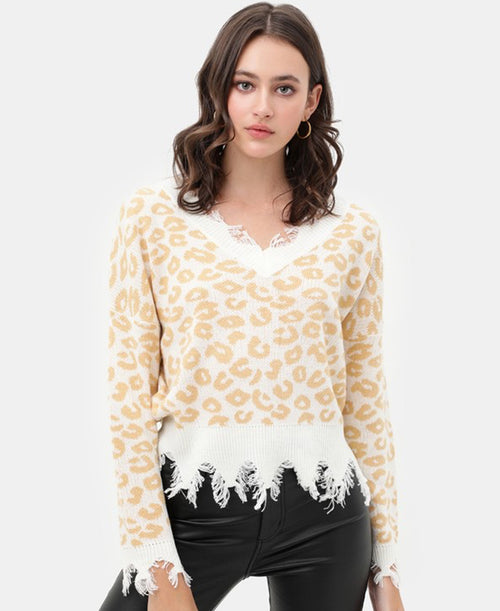 Leopard Sweater (9666WN)
