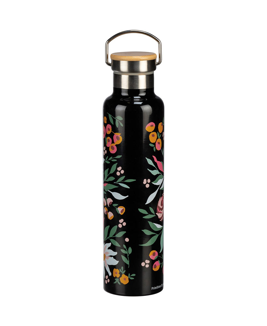 Live Happy Floral Water Bottle (106266)