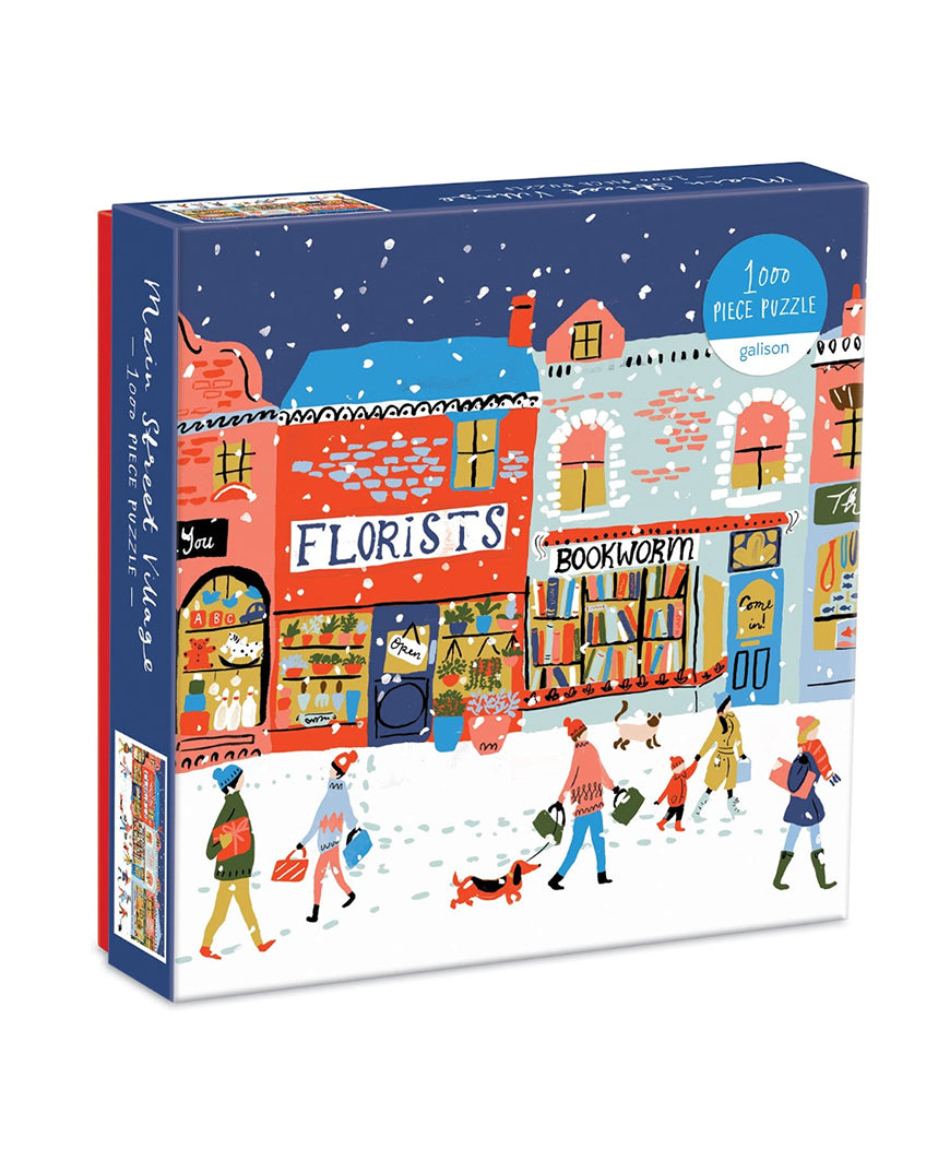 Main Street Village 1000 Piece Puzzle