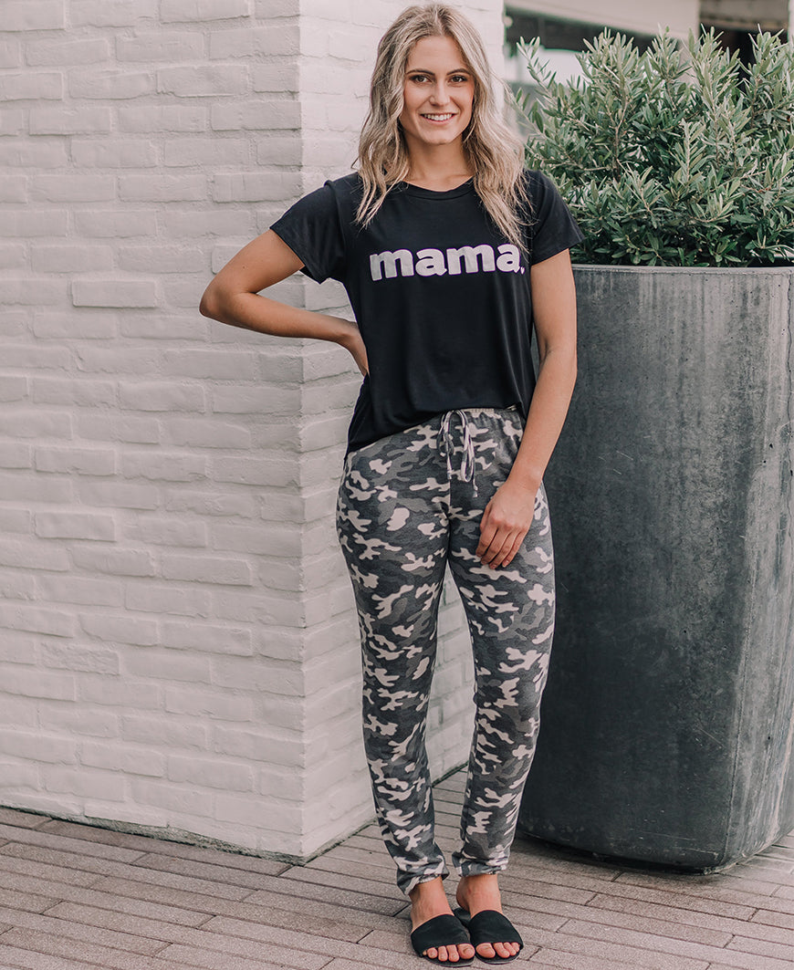 Black Mama Graphic Tee (15087)