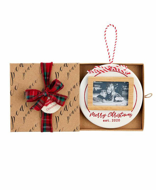 Merry Christmas 2020 Frame Ornament (46700111)