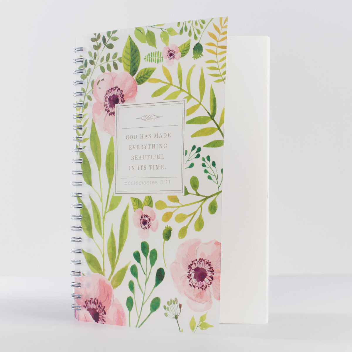 Everything Beautiful Floral Notebook