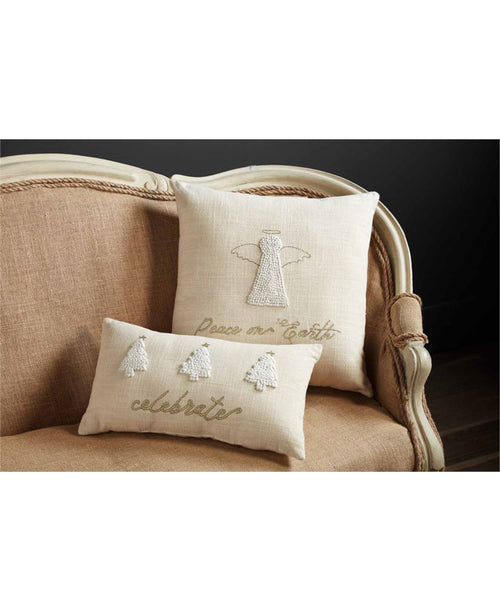 Peace On Earth Angel Pillow (41600405A)