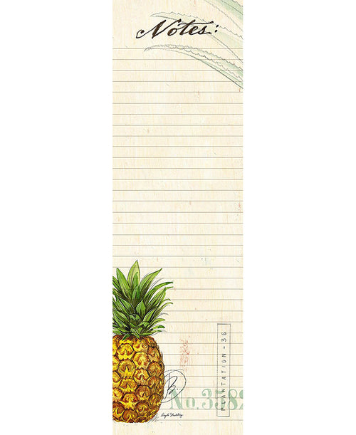 Pineapple 50 Sheet Magnetic Notepad