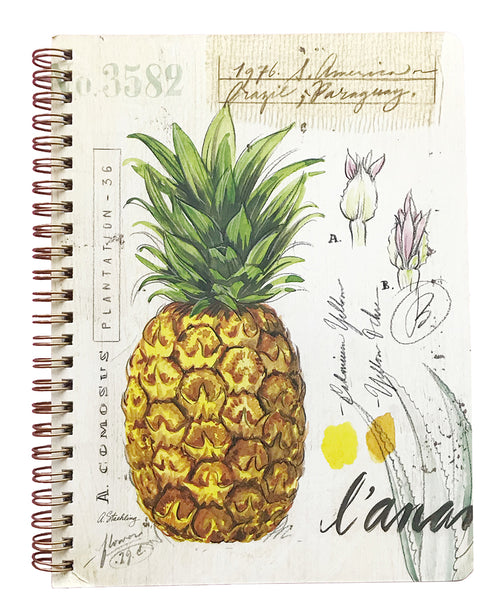 Pineapple Medium Spiral Notebook