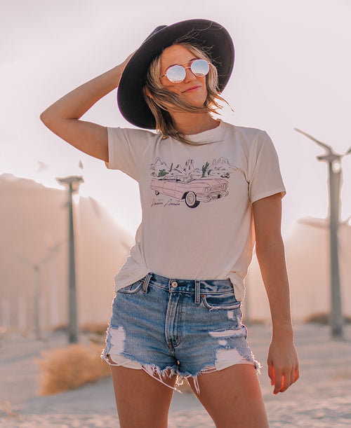 Adventure Awaits Graphic Tee (T-36520)