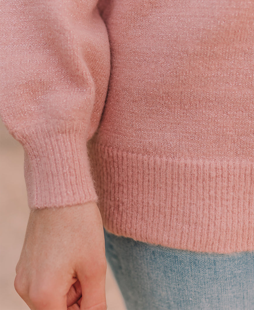 Pink Sparkle Sweater (61284)