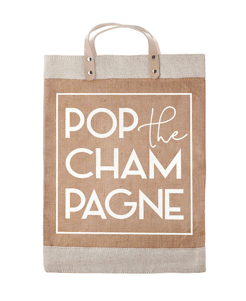 Pop the Champagne Market Tote Bag (F2701)