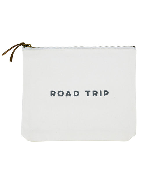 Road Trip Canvas Clutch (G0215)