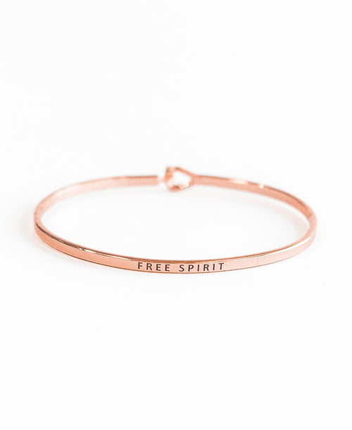 Rose Gold Free Spirit Bangle