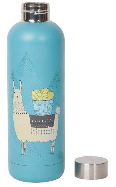 Llamarama Stainless Steel Bottle
