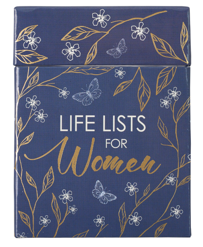 Life Lists For Women- Boxed Cards (CVS016)