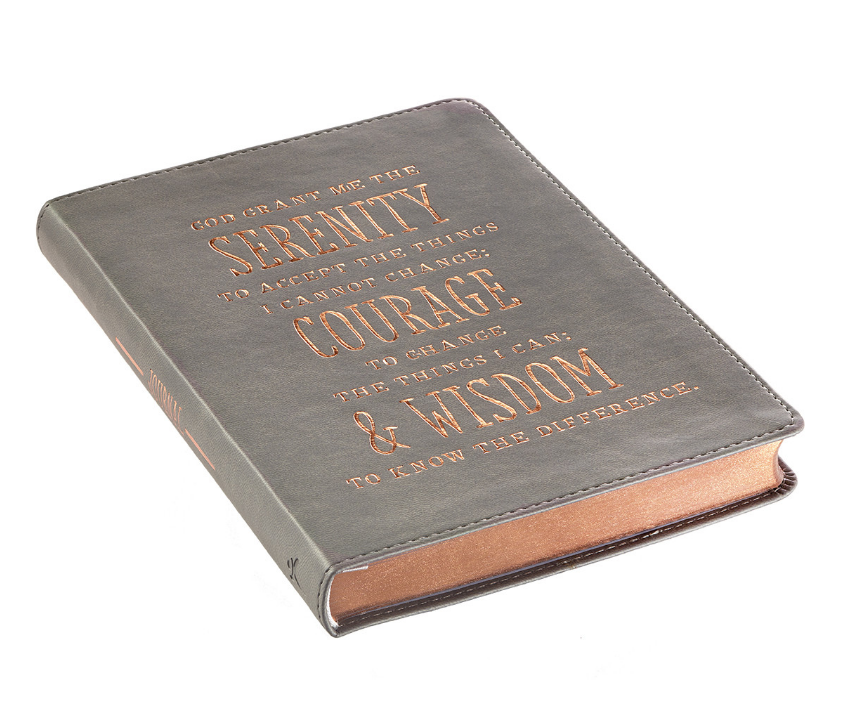 Serenity, Courage, and Wisdom LuxLeather Journal (JL294)