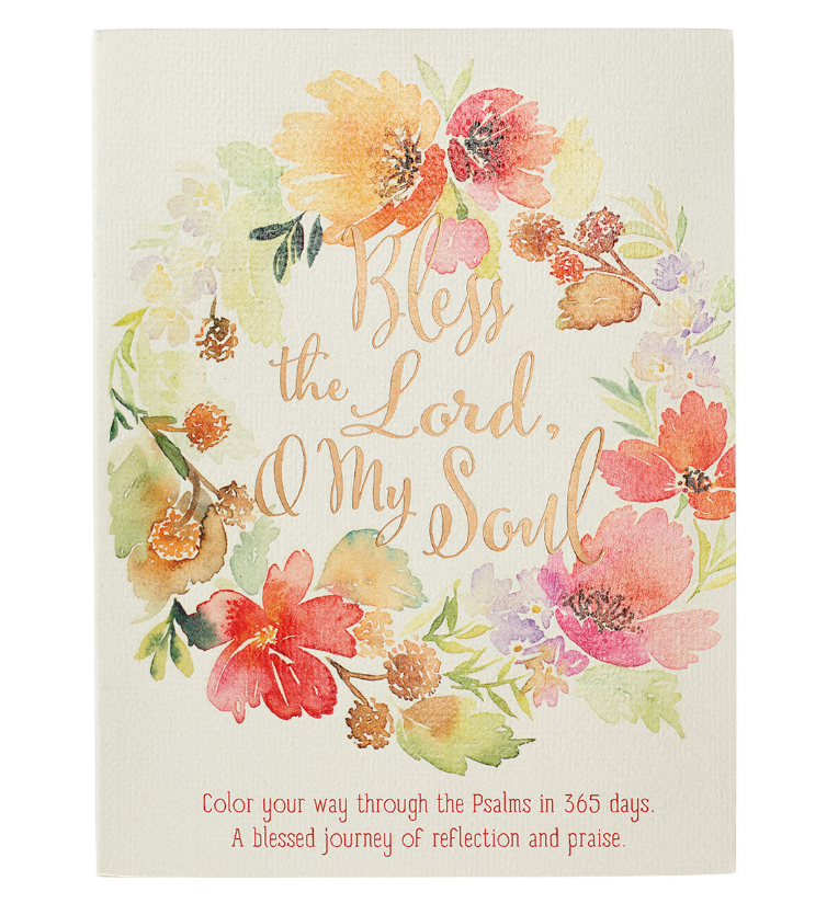 Bless the Lord, O My Soul Coloring Devotional (GB094)