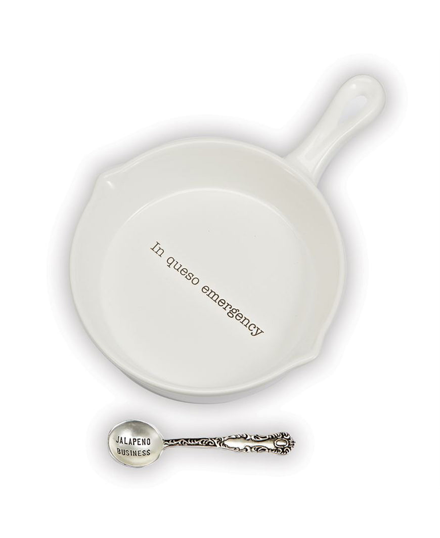 Skillet Queso Dip Set – Daisy Shoppe - cute clothes & accessories