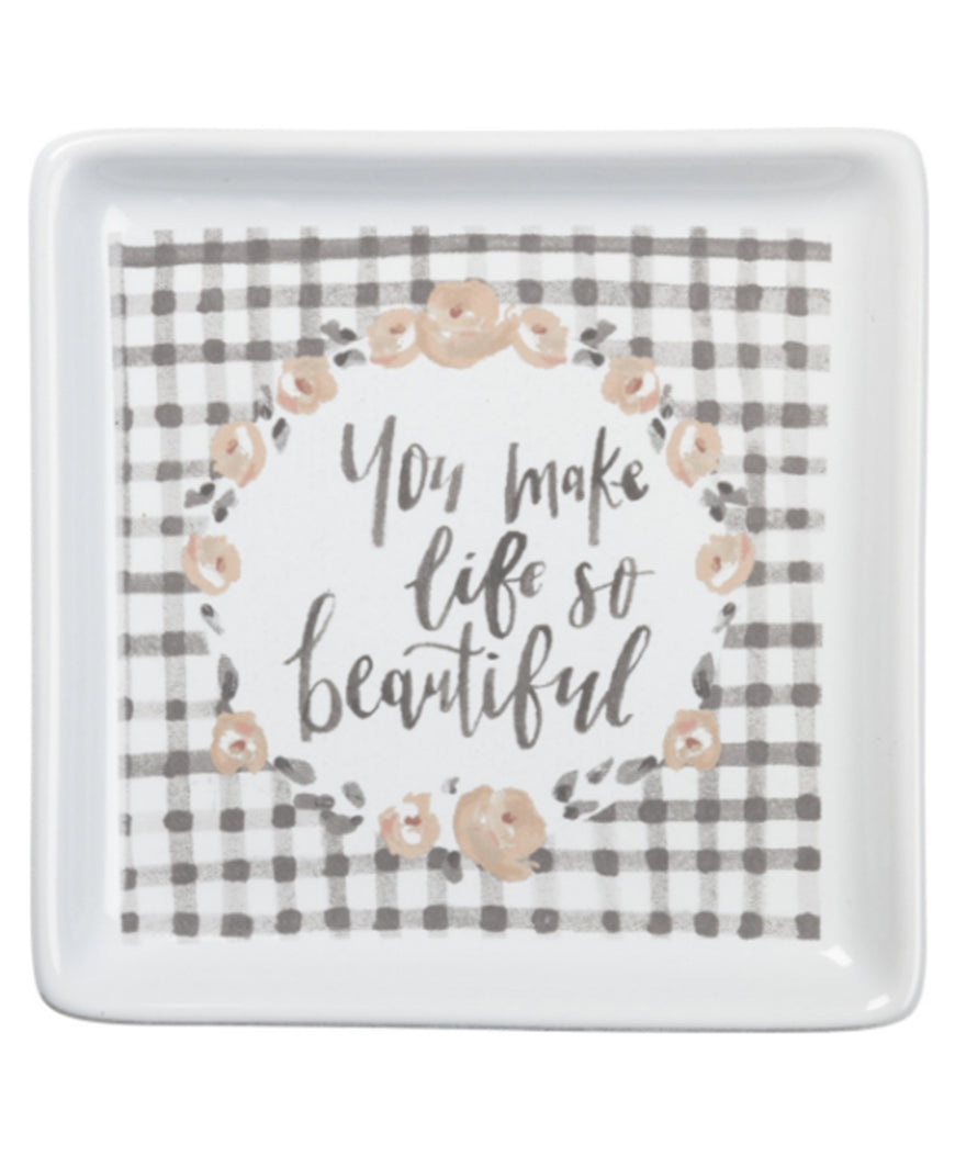So Beautiful Trinket Tray