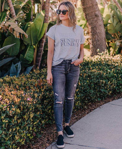 Almost Weekend Graphic Tee (CT7621-1)