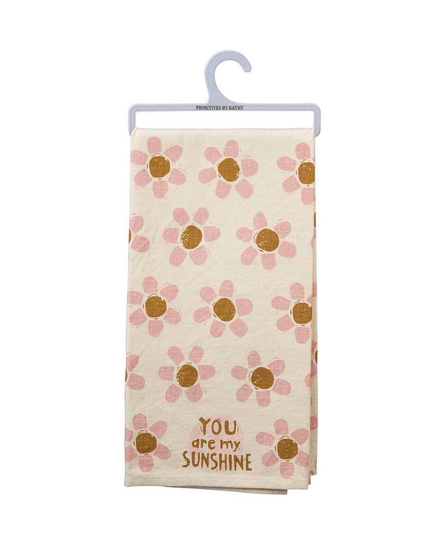 You Are My Sunshine Linen-Blend Towel (102572)