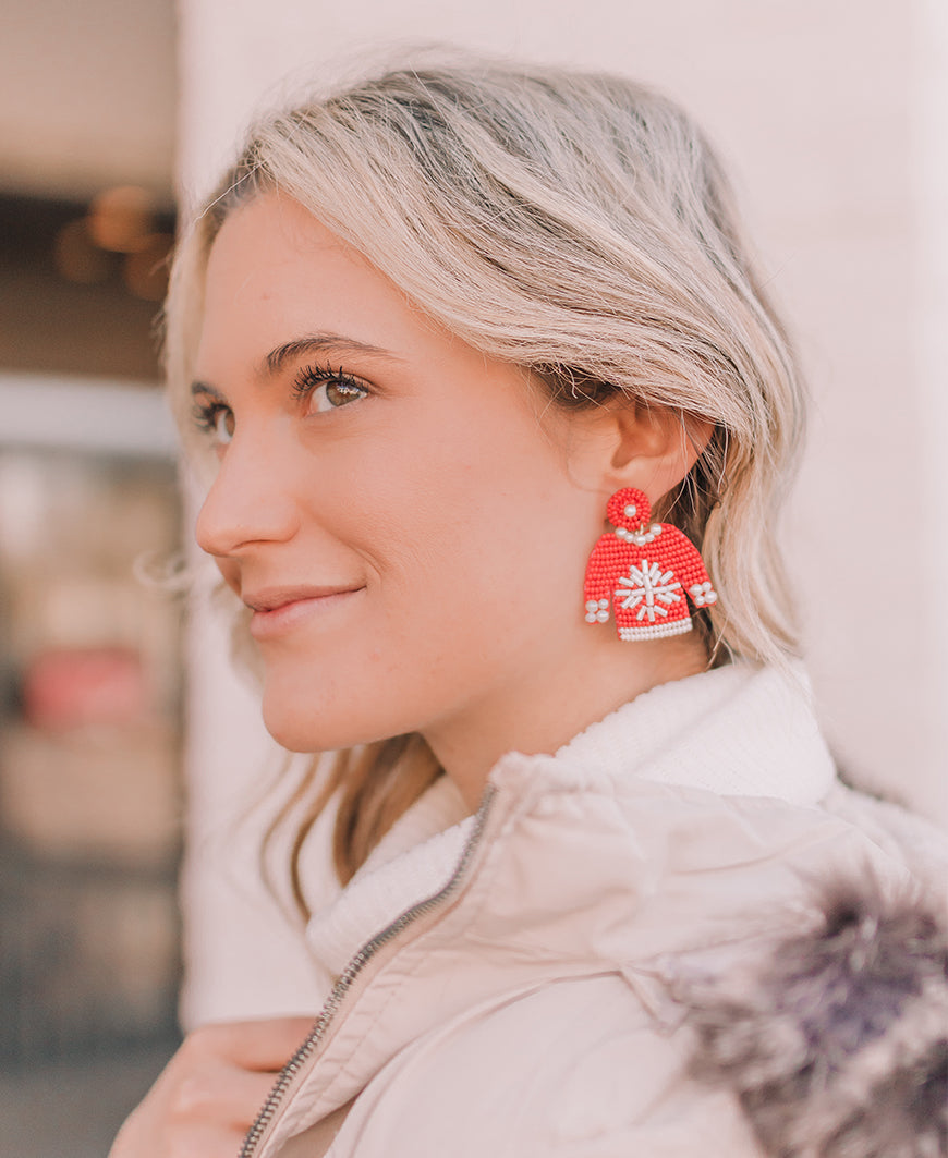 Christmas Sweater Earrings