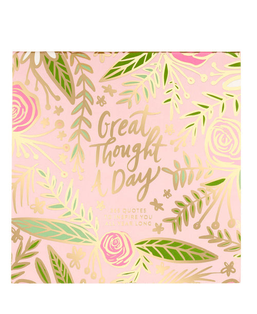 Great Thought a Day Square Desk Pad