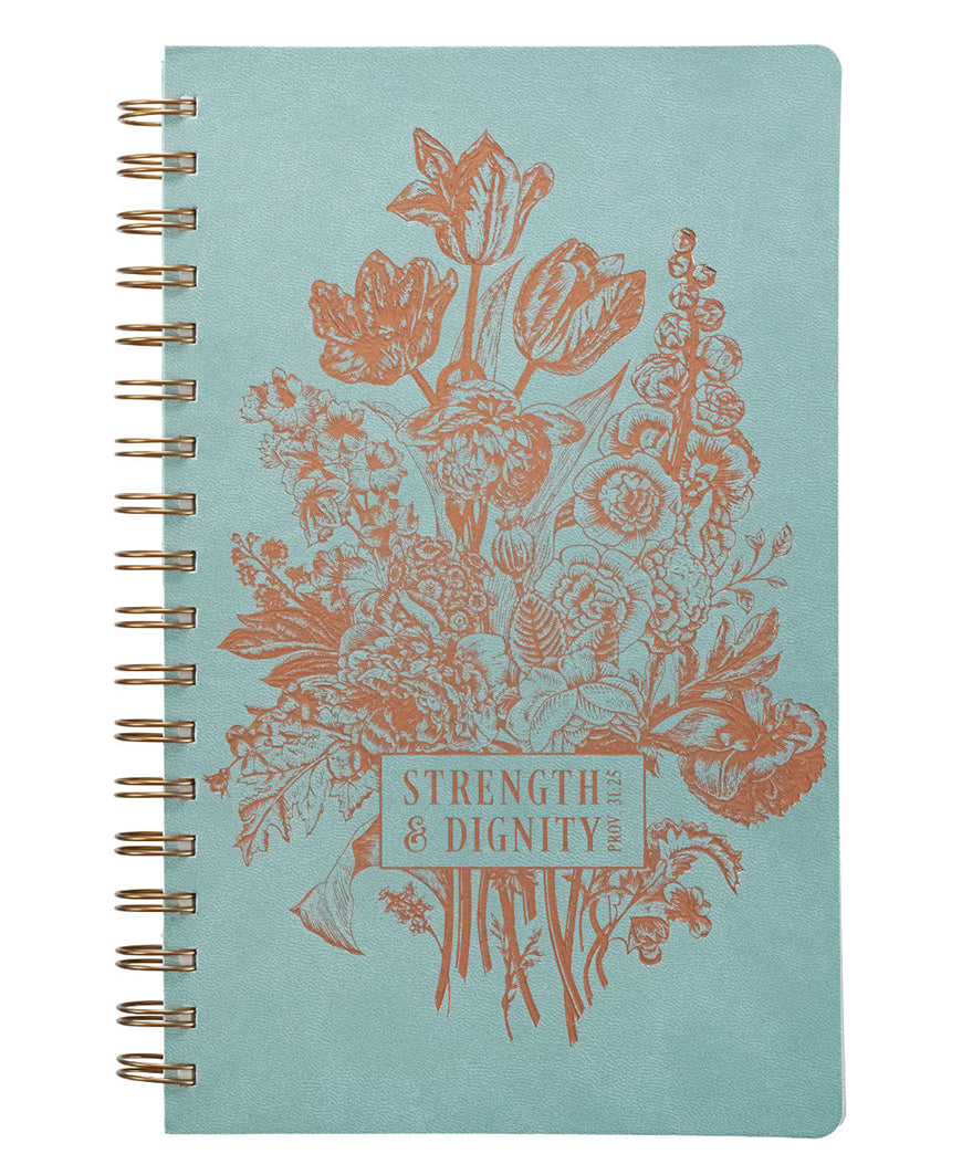 Strength & Dignity Wire Journal (JL264)