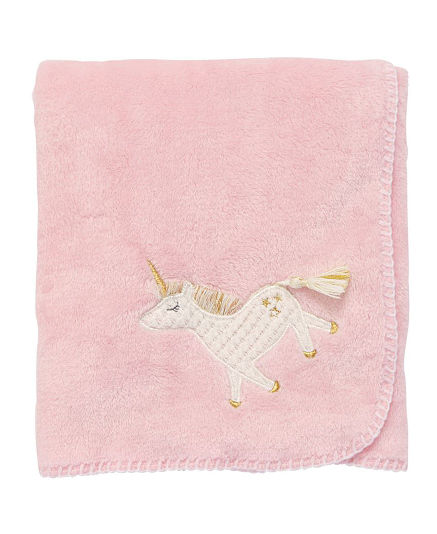 Fleece Unicorn Blanket (11000079)