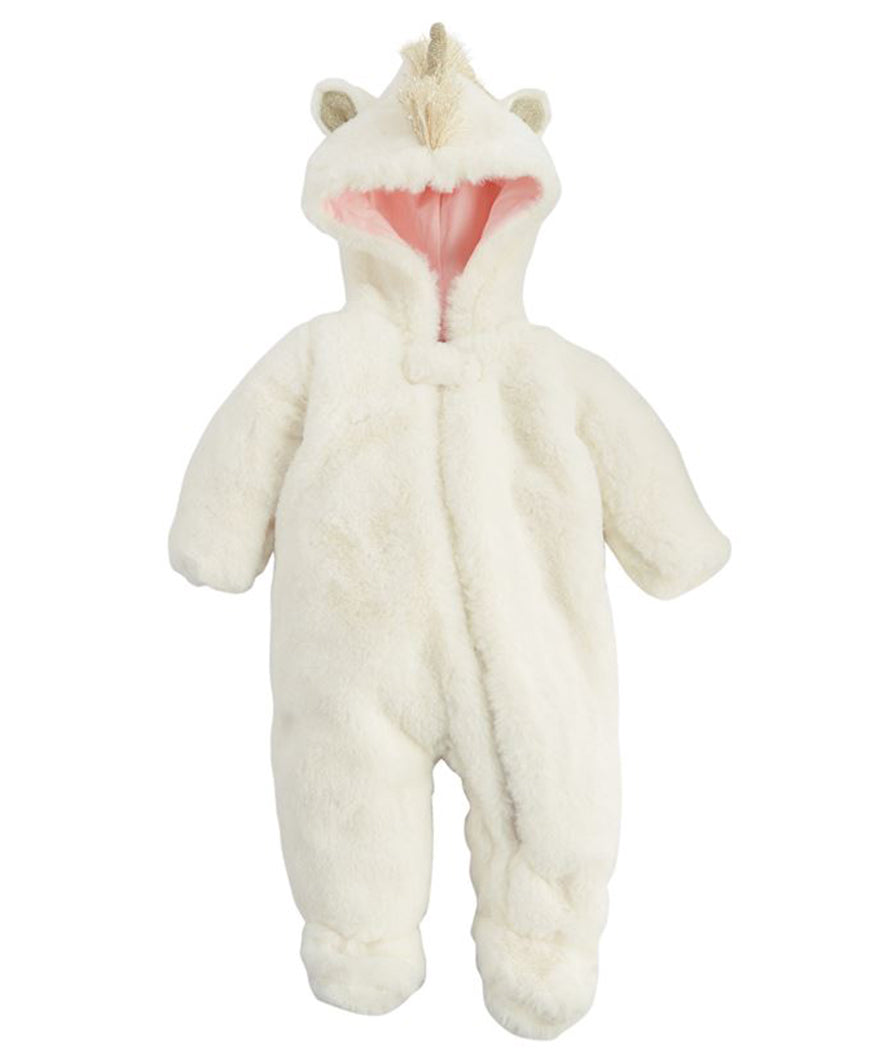 Ivory Plush Unicorn Sleeper (11030196)