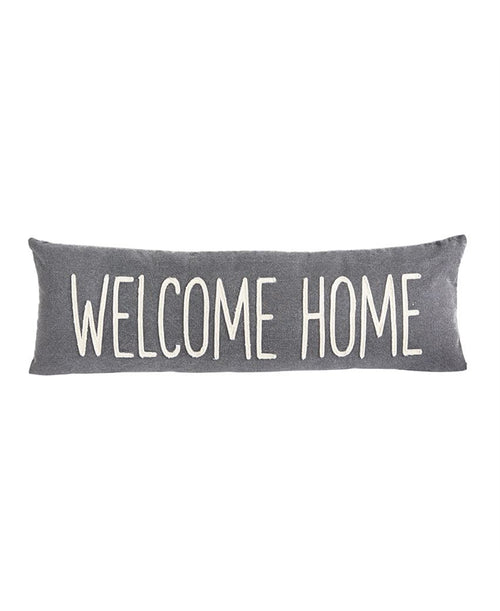 Welcome Home Canvas Pillow (4165145W)