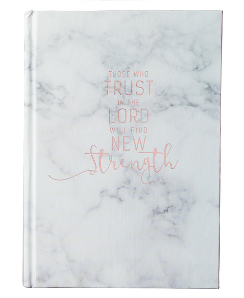 Trust In The Lord Marble Journal