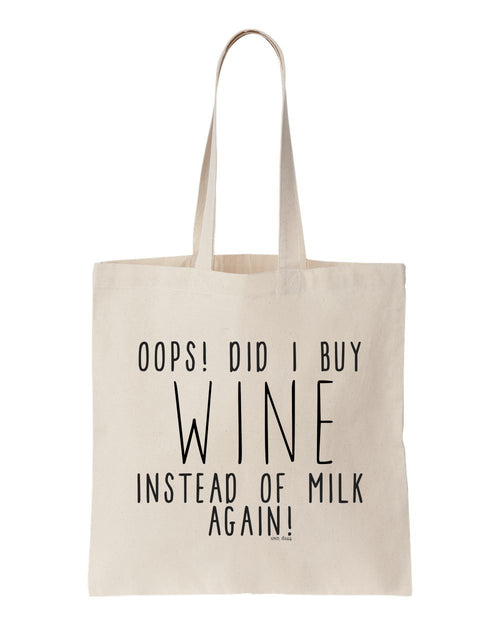 Oops! Reusable Tote Bag