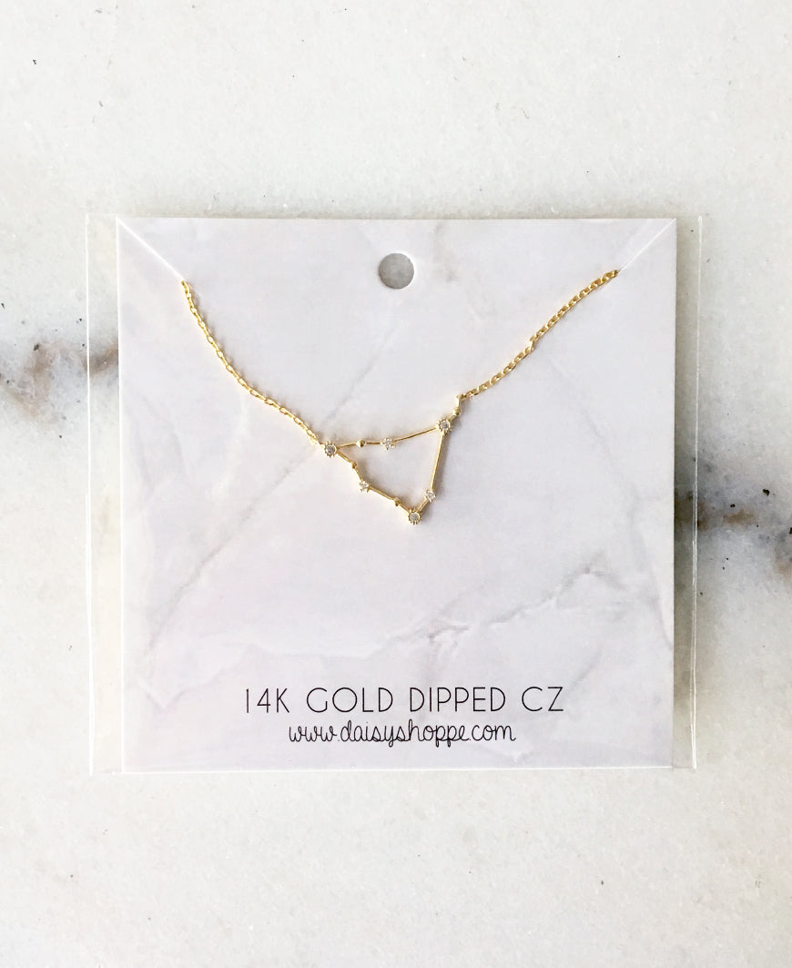 Zodiac Constellation Necklace (50-42)