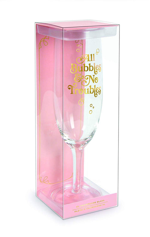 All Bubbles & No Troubles Oversized Champagne Flute